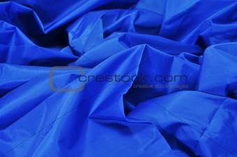 blue satin fabric