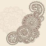 Henna Mehndi Doodles Vector Design