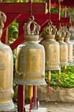 Golden prayer bells