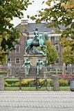 Christian V statue in Copenhagen