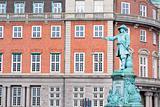 Statue of admiral Niels Juel in Copenhagen