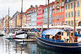 Nyhavn - waterfront, canal and entertainment district in Copenhagen