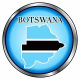 Botswana Round Button