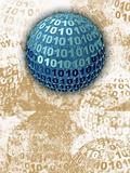 Binary Blue Sphere