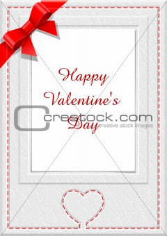 frame for saint valentine's  day