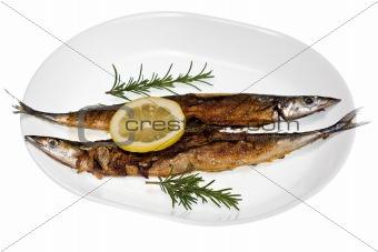 Grilled Mackerel Pike
