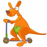 Cartoon Character Kangaroo