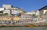 Portugal. Porto city. Old historical part of Porto. Ribeira