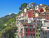 Italy. Cinque Terre. Riomaggiore village