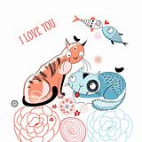 love cats and fish