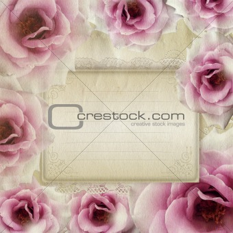 Background for congratulation or invitation