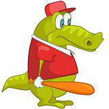 Cartoon Character Crocodile