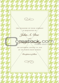 Vector Seamless Pattern and Frame
