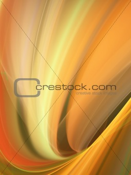 Abstract background with sweeping curves