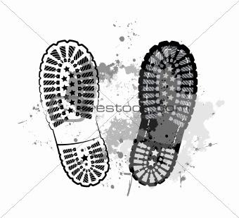 Black trail foot
