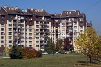 Apartment block