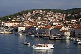 Boats and houses in Trogir