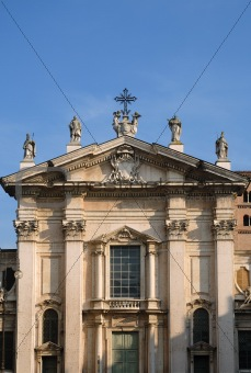 Cathedral in Mantua
