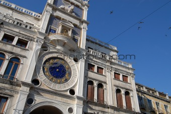 Astrologic clock in Venice