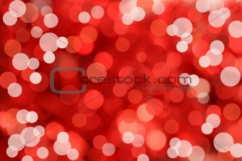 Holiday light background