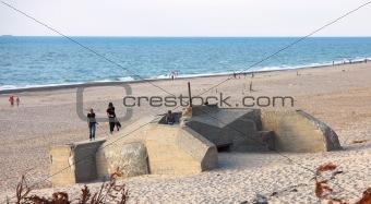 Old Nazi bunders at the beach