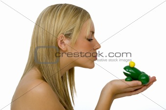 Kissing Another Frog