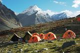 Trekking camp