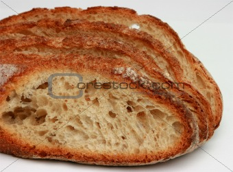 Slices of traditional bread