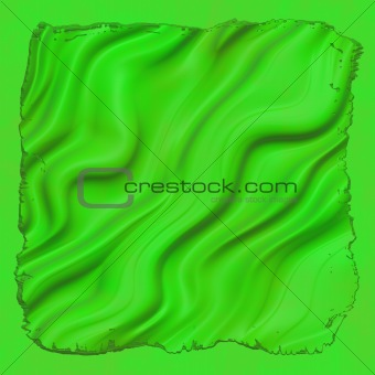 Bright green material