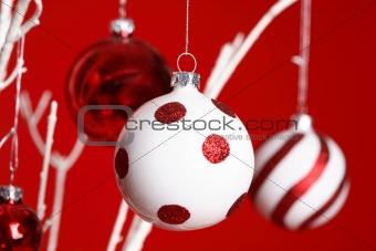 Christmas Baubles handing