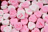 I love you conversational candy hearts