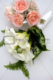 Bride's Wedding Flower Bouquet