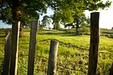 Rustic Countryside Fence