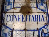 Confeiteria sign Lisbon