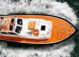 Pilot boat in Caribbean