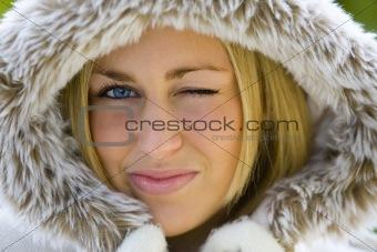 Winking in Winter