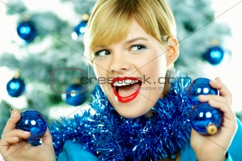 Beautiful Blue Christmas
