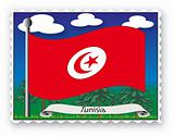 Stamp Tunisia