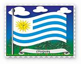 Stamp Uruguay