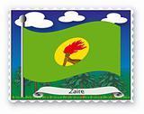 Stamp Zaire