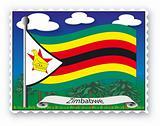 Stamp Zimbabwe