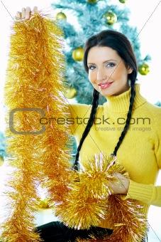 Beautiful Yellow Xmas
