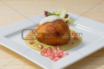 Potato pie