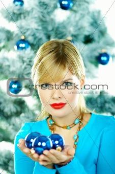 Beautiful Blue Christmas