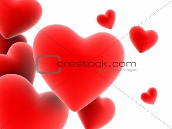hearts over hearts