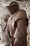 Ancient armors.