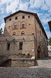 Ducal Palace. Castell'arquato. Emilia-Romagna. Italy.