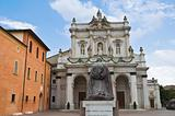 Sanctuary Basilica of Fontanellato. Emilia-Romagna Italy.