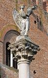 Column of the angel. Grazzano Visconti. Emilia-Romagna. Italy.
