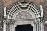 St. Francesco church. Piacenza. Emilia-Romagna. Italy.